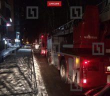 Пожар в ангаре на Лиственной улице локализован