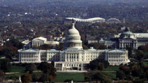 Северная Корея показала на ВИДЕО взрыв авианосца США и Капитолия