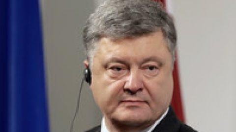 Порошенко обсудил с Тиллерсоном размещение в Донбассе миротворцев ООН