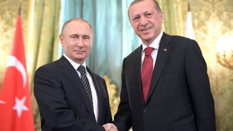 В начале мая Эрдоган приедет в Сочи на встречу с Путиным