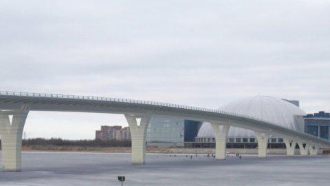 Болельщики «Зенита» попадут на тестовый матч, пройдя по Яхтенному мосту