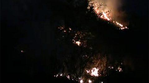 В иркутском поселке Бубновка пожар уничтожил школу и 50 домов