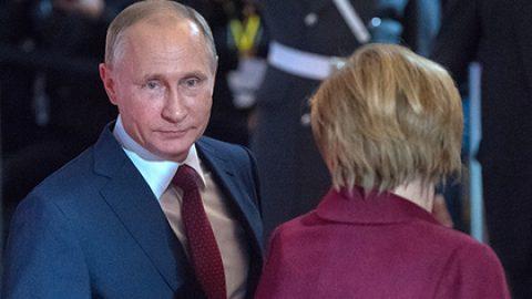 Кремль назвал темы грядущих переговоров Путин и Меркель