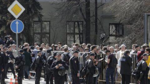 Полиция оценила число участников акции в центре Москвы
