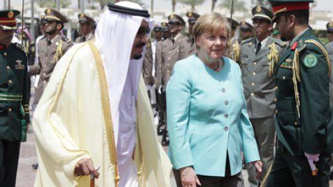 Германия будет обучать саудовских военнослужащих на своей территории