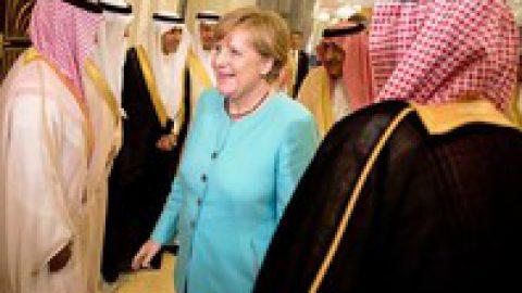 Ангела Меркель не стала покрывать голову во время визита в Саудовскую Аравию