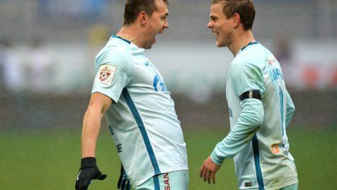 Дзюба и Кокорин поведут «Зенит» в атаку на прощании с «Петровским»