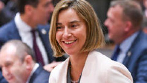 Глава дипломатии ЕС призвала усилить давление на Россию для решения конфликта на Украине