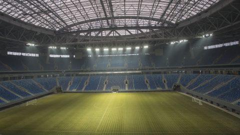 Укладка нового газона из Ленобласти для «Зенит-арены» обойдётся в 3 млн рублей