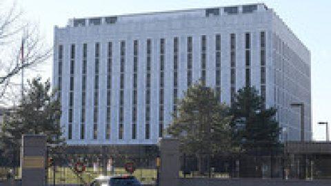 Сенат США переименовал площадь в центре Вашингтона перед посольством РФ в честь Бориса Немцова