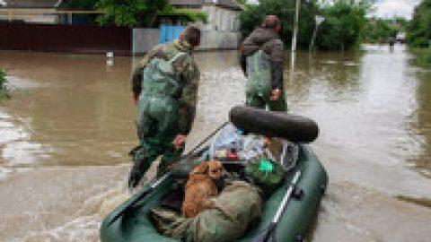 На Ставрополье вчетверо увеличилось число подтопленных домов. В Минводах двое погибших