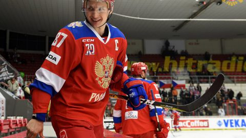 Сборная России обыграла Чехию в третьем матче чешского этапа Евротура