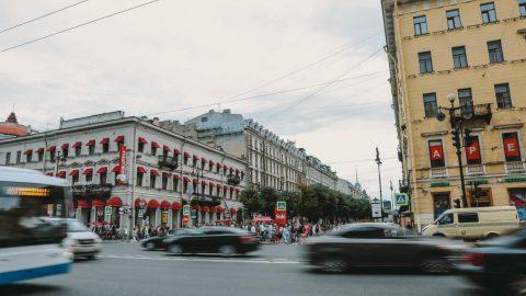 Первомай: город стоит в пробках