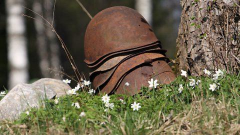 Поисковик подорвался на мине на Синявинских высотах