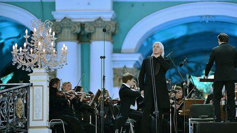 Дмитрий Хворостовский может выступить на Дворцовой площади