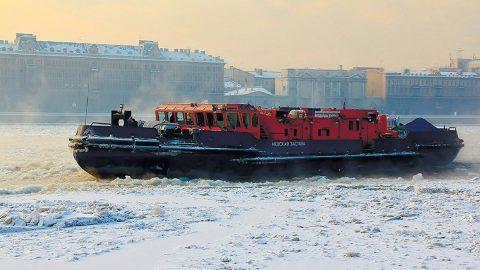 В Петербург вернулся ледокол «Невская застава»