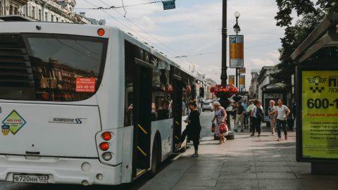 В субботу во Фрунзенском районе наземный транспорт будет приостанавливать движение