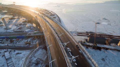 Петербургские автолюбители будут объезжать съезды ЗСД в связи с ремонтом
