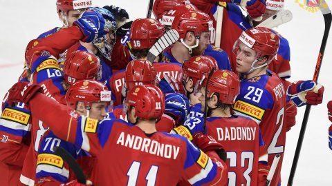 Сборная России узнала своего соперника по полуфиналу хоккейного ЧМ
