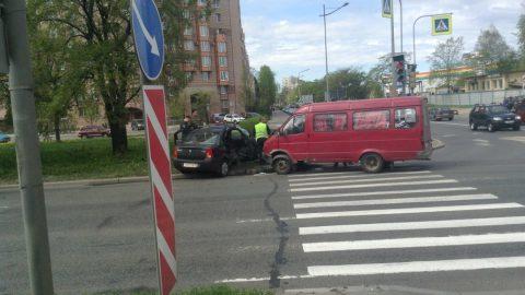 В Московском районе в ДТП пострадали пять человек