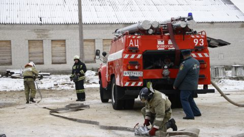В Купчино выгорела дотла квартира