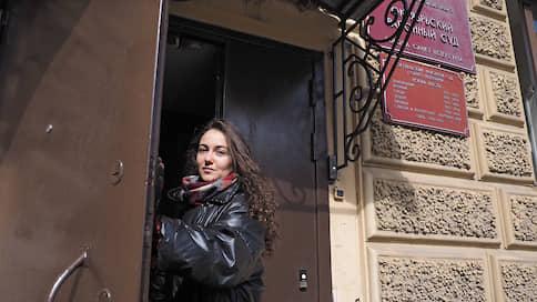 Волонтера не привлекли к ответственности за нахождение в Александровском саду