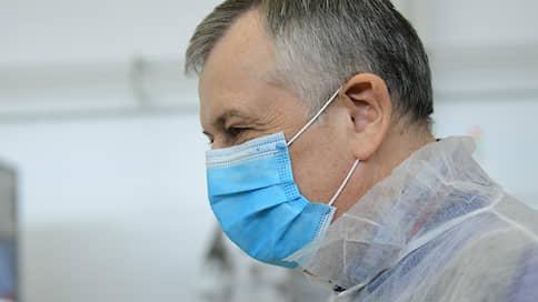 Александр Дрозденко не принял участие в совещании с Путиным из-за самоизоляции